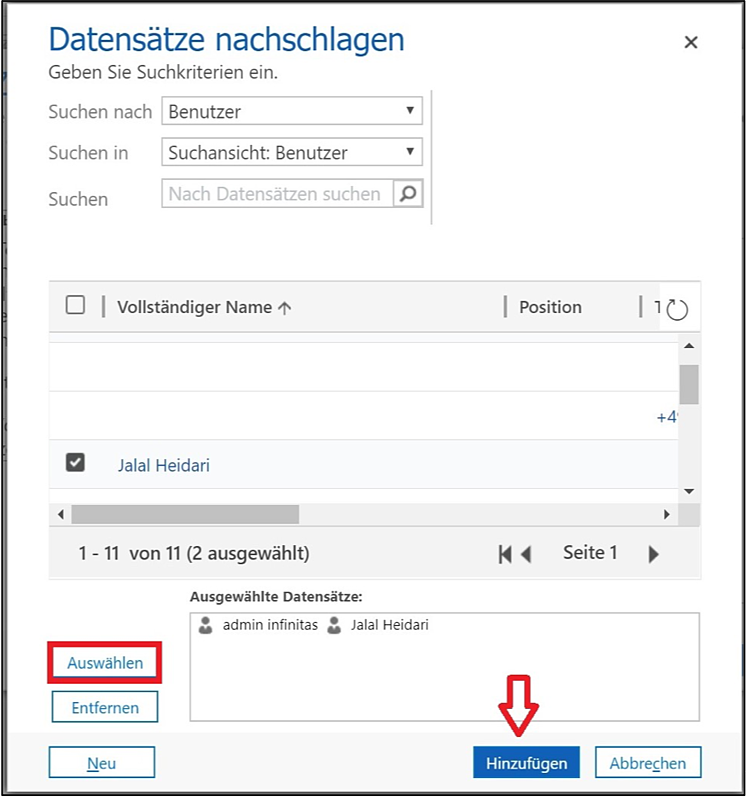 Erstellen von Diagrammen und Dashboards in Microsoft Dynamics 365