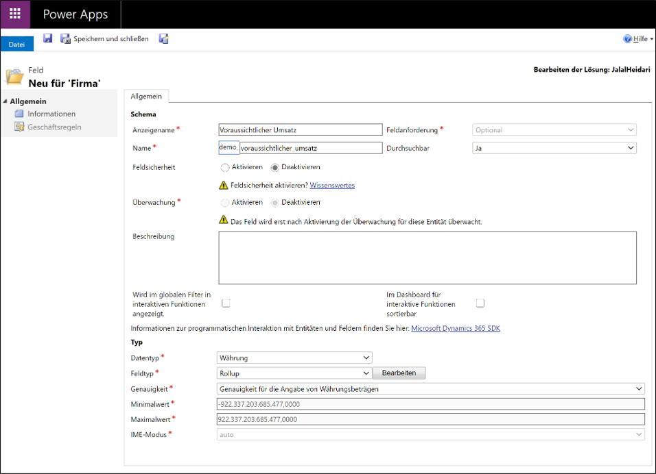 Microsoft_Dynamics_365_Rollup_Felder_vs_Berechnete_Felder_Abb1