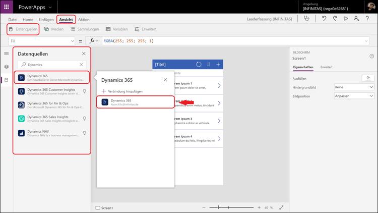 Teil 1: So erstellen Sie eine App mittels PowerApps von Microsoft.