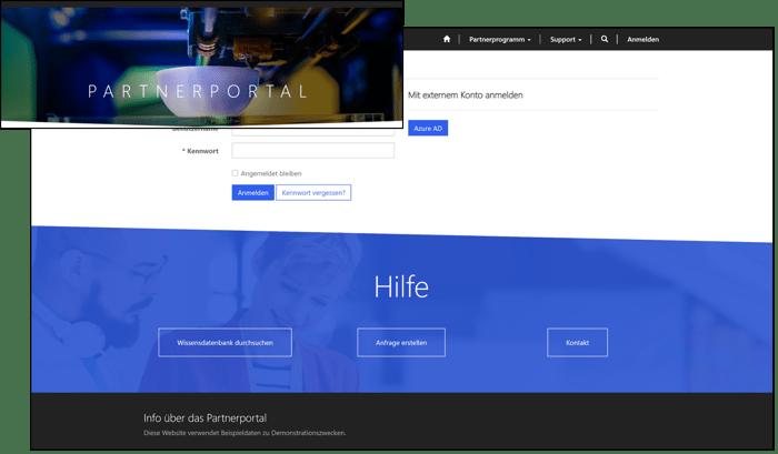 Microsoft_Power_Apps_Portals_Demo_System_Anmeldung