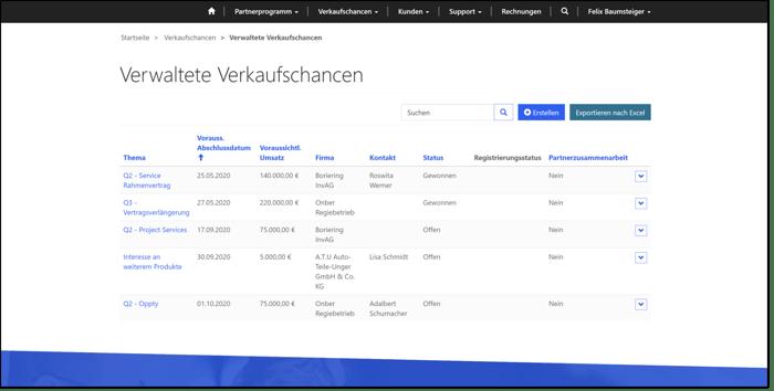 Microsoft_Power_Apps_Portals_Demo_System_Verkaufschancen